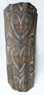 Votive panel - Washkuk Mountains Region - Papua New Guinea