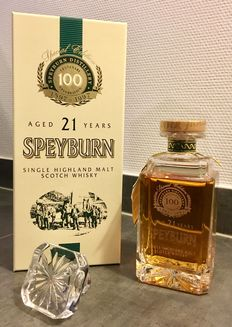 Speyburn 21 Year Old - Limited Edition - Centenary Decanter - (40% - 70 cl)