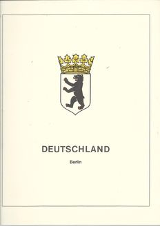 Berlin 1965/1985 and Federal Republic of Germany 1970/1979 – Collection in Lindner Falzlos and Safe album