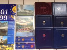 The Netherlands - year packs 1984/2001 (18 pieces).