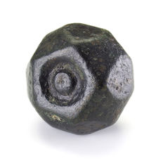 Large Roman bronze weight - 33,7 mm