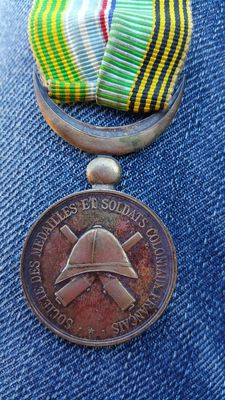 Colonial soldiers medal 1896