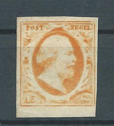 Netherlands 1852 - King Willem III First emission - NVPH 3