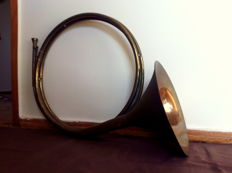 French Brass Horn, Portugal, 40's/50's
