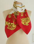 Check out our Hermès – 'Les Cavaliers d'Or' scarf