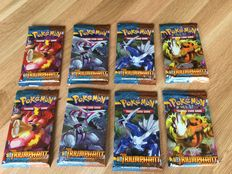 Pokemon TCG - Heartgold and Soulsilver Triumphant - 8 booster packs (2x all artworks) - English (2010)