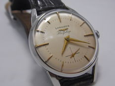 Longines Flagslip – Ref.  101 – Second series – Third piece to be made – Men's watch – 1955 – Rare piece