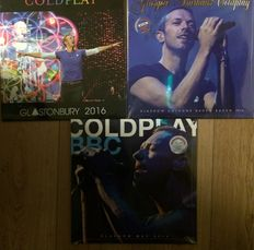 Coldplay ||  3 LP's || Still in sealing || Limited edition || Coloured vinyl || Numbered