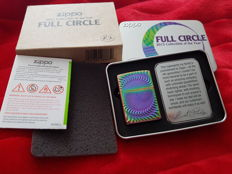 "Zippo limited edition ""2015 collectible of the Year Spectrum"" FULL CIRCLE Nr 9809 of 12000. NEW with Original Box"