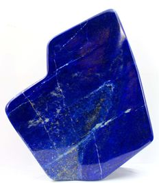 Finest Royal Blue Lapis Lazuli tumble - 147 x 138 x 53mm - 1502gm