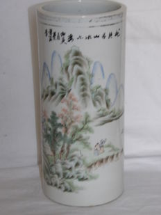 Rouleau vase – China – Early 20th century (Republican period)