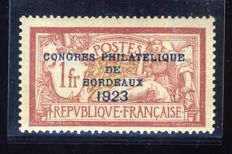 France 1923 – Bordeaux Congress – Yvert no. 182.