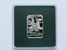 Poland – 10 Zlotych 2007 'Knight in Heavy Armour' – silver