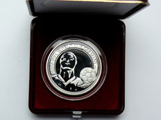 Belgium - 20 Euro 2005 'Football World Championship 2006 in Germany' - silver