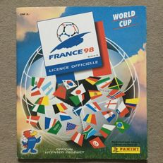 Panini - FIFA World Cup 1998 France - Complete album - Very good condition.
