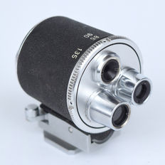 Super cool Steinheil / Tower Turret viewfinder / viewfinder for 35, 85, 90 and 135 mm lenses.