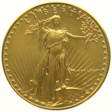 "United States - 50 Dollars 1986 ""Eagle"" - 1.oz gold"