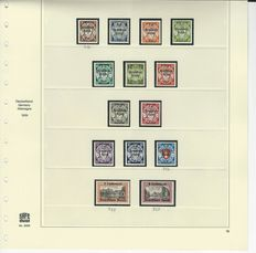 Germany 1936 to 1939 – Selection on pages 11, 12, 18, 19 SAFE dual – Michel 632 to 645, 646 to 661, 702 to 713, 716 to 729.
