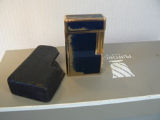 Dupont lighter Chinese Lacquer, gold-plated