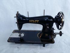 Antique sewing machine, Pfaff, type 31-Germany, Kaiserslautern 1925 \ 1935