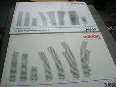 Märklin H0 - 24904/24905 - C-rail expansion sets C4 and C5