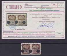 Italy 4 Kingdom Varieties - Italian Social Republic - Colonies of Eritrea and Rhodes, all certified MNH
