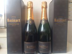 1998 Ruinart 'R de Ruinart' Brut, Champagne – 2 bottles with boxes
