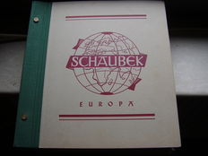 World - collection in a Schaubek album
