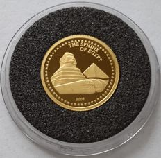 Congo - 1500 Francs 2005 'The Sphinx of Egypt' - Gold 1/25 oz