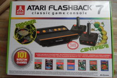 Atari Flashback console 7 with 101 games wirless 2 controls new in box