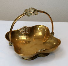 Lovely yellow copper bowl