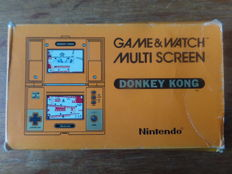 Nintendo Game & Watch - Donkey Kong, Boxed, with battery cover