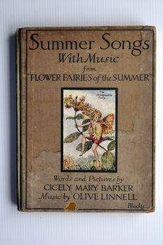 "Cecily Mary Parker - Summer Songs with Music from ""Flower Fairies of the Summer"" - 1926"