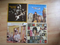 Lot of 5 Rolling Stones LP´s. 4 Lp´s Ron Wood & 1 LP Keith Richards -  All first issues