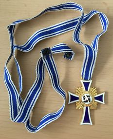 Cross of Honour of the German Mother in Gold; Third Reich