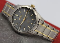Seiko – Men's Solar Titanium Watch – unworn