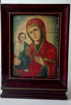 Mother of God - Russia - 19th century