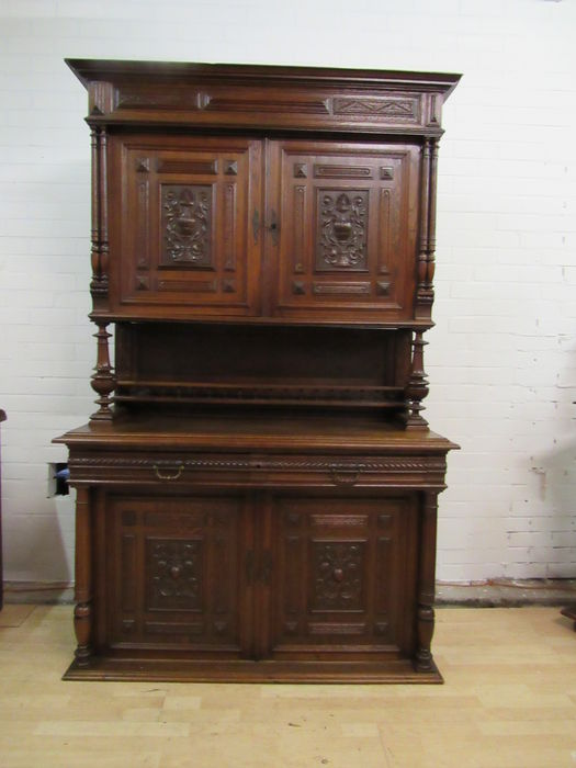 Beautiful Henry Deux Cabinet With Lovely Decorations France Circa 1880 Catawiki