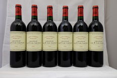 1995, Chateau Le Couvent, Saint-Emilion Grand Cru, France, 6 Bottles