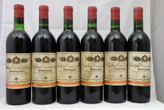 1974 Chateau Croizet-Bages, 5th Grand Cru Classe, Pauillac – 6 bottles