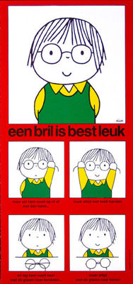 Dick Bruna - Glasses are alright - 1975