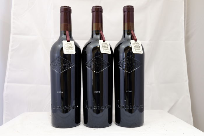 2006, Rubicon Estate Inglenook Rubicon, Cabernet Sauvignon, Napa Valley, Rutherford - 3 bottles (75cl)