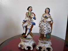 Porcelaine de Paris-Set of figures