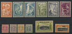 Greece 1890/1955 - collection on stock cards.