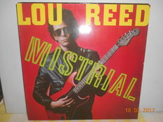 Lou Reed  ''lot of 8 albums incl 1 double album ''