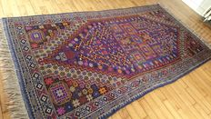 Wonderful hand woven Persian carpet of Iranian origin - Measurements: 220-110 cm - IN PERFECT CONDITION - €1 STARTING BIDS!
