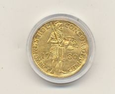 The Netherlands – Dutch ducat 1780 – gold