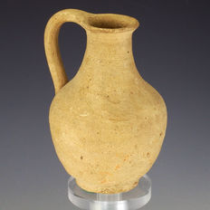 Gallo Roman pottery jug, intact - 103,5mm