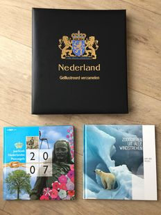 "The Netherlands 2007/2011 - Five years ""Illustrated Collecting"", Year book 2007 and ""Mammals from all corners of the world"""