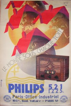 Orsi - Philips radio - 1934